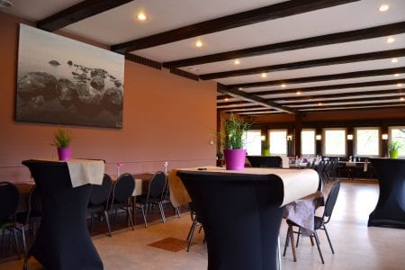 Restaurant Marco-Polo intérieur - banquet