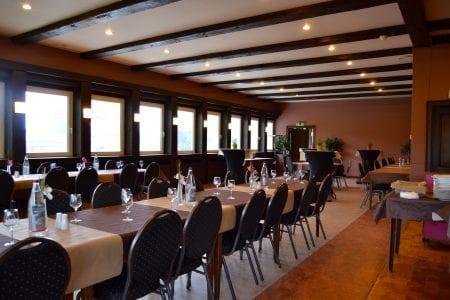 Restaurant Marco-Polo intérieur - banquet disposition
