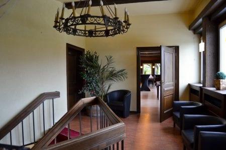 Restaurant Marco-Polo intérieur - Étage escalier